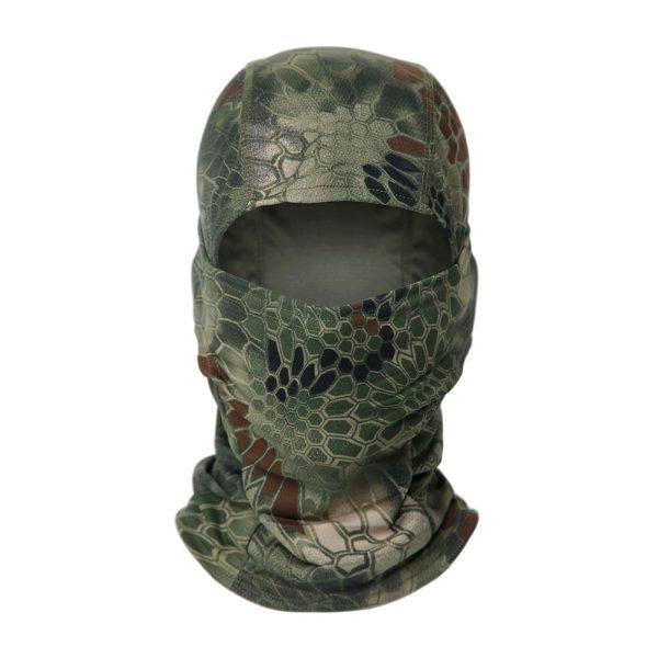 Jagt Hætte, Halsrør, Camouflage Balaclava